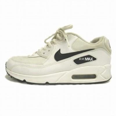 【中古】ナイキ NIKE エアマックス AIR MAX スニーカー シューズ 靴 325213-13 1 24.5cm ホワイト レディース
