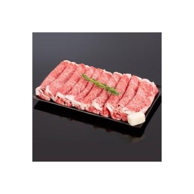 ふるさと納税 和歌山市 熊野牛 すき焼き・しゃぶしゃぶリブローススライス  約400g