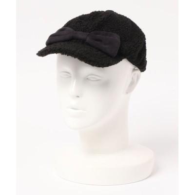 DIL baby & kids shop / りぼん付キャップ KIDS 帽子 > キャップ