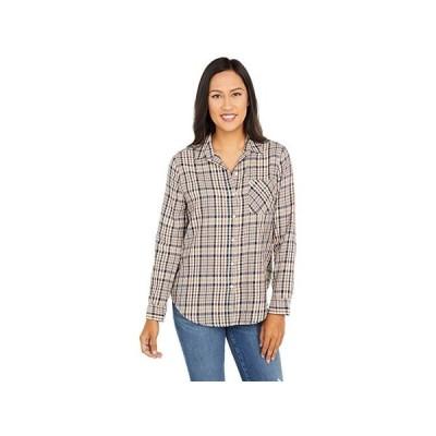 ラッキーブランド Classic Shirt レディース シャツ トップス Brown Multi