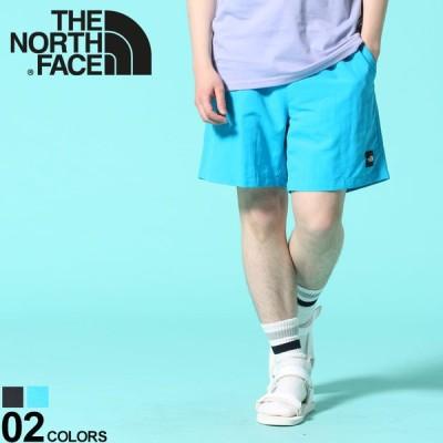 ノースフェイス パンツ THE NORTH FACE ショートパンツ ワンポイントロゴ ウエストコード FlashDry Black Box Short Short NF0A4T21