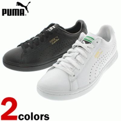 プーマ PUMA スニーカー コートスター NM COURT STAR NM 357883 ホワイト(01)プーマブラック/プーマブラック(13)
