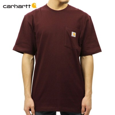 カーハート CARHARTT 正規品 メンズ 半袖ポケットTシャツ WORKWEAR POCKET SHORT-SLEEVE T-SHIRT K87 PRT PORT
