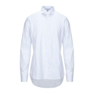 カナーリ CANALI シャツ ホワイト 43 コットン 100% シャツ