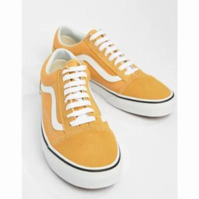 ヴァンズ スニーカー Old Skool Trainers In Yellow VA38G1QA0 Yellow