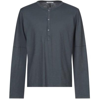 CROSSLEY T シャツ 鉛色 M コットン 100% T シャツ