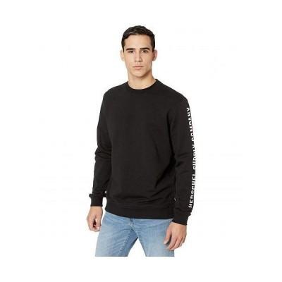 Herschel Supply Co. ハーシェルサプライ メンズ 男性用 ファッション パーカー スウェット Crew Neck - Sleeve Print Black/White