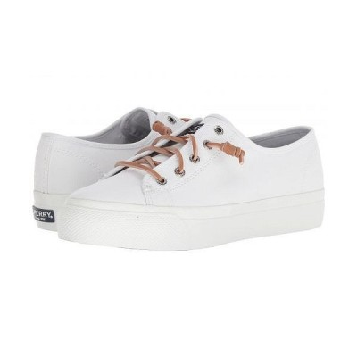 Sperry スペリー レディース 女性用 シューズ 靴 スニーカー 運動靴 Cliffside - White