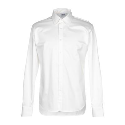 SSS WORLD CORP. シャツ ホワイト L コットン 97% / ポリウレタン 3% シャツ