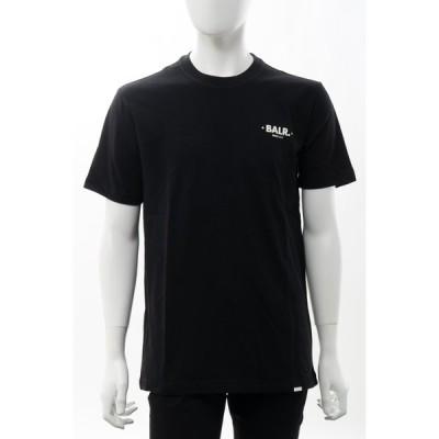 ボーラー Tシャツ 半袖 丸首 クルーネック MINIMALISTIC DROPPED SHOU メンズ B1112 1002 ブラック BALR. 2021年春夏新作