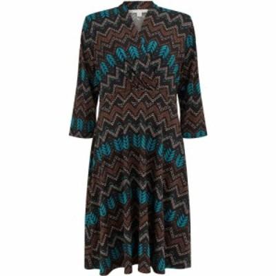 ヌガーロンドン Nougat レディース ワンピース ワンピース・ドレス Darwin Aztec Print Dress Green Print