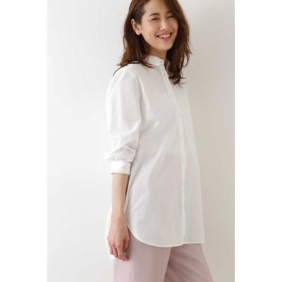 【ナチュラルビューティーベーシック/NATURAL BEAUTY BASIC】 [洗える]チュニックシャツ