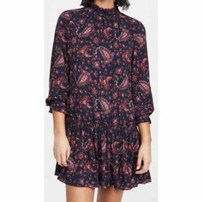 レベッカ テイラー La Vie Rebecca Taylor レディース ワンピース ワンピース・ドレス Long Sleeve Madeline Dress Midnight Navy Combo