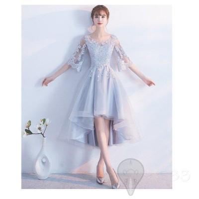 ドレス 演奏会用  安い 司会 コンサート パーティードレス 発表会  二次会 プリンセス ステージ衣装