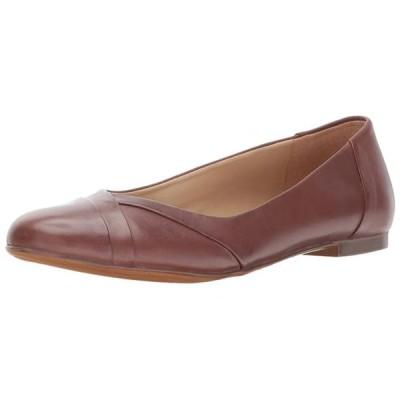 レディース 靴 コンフォートシューズ Naturalizer Womens Gilly Leather Closed Toe Slide Flats