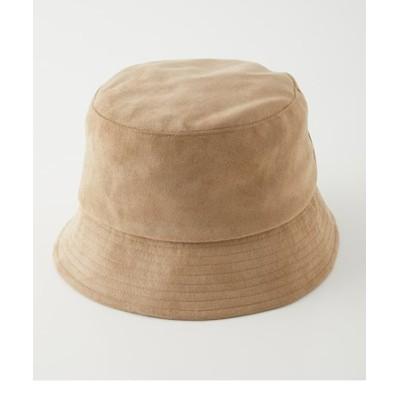 ECO SUEDE BUCKET HAT