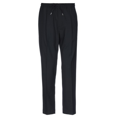 BRIGLIA 1949 パンツ ブラック 48 バージンウール 54% / ポリエステル 45% / ポリウレタン 1% パンツ