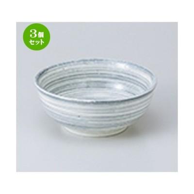 3個セット 小鉢 和食器 / うず粉引グレー3.5ボール 寸法:10.5 x 5cm