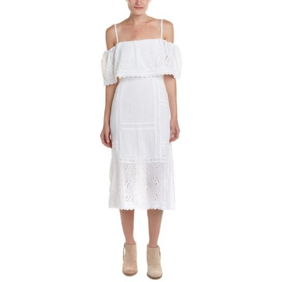 フリーピープル ワンピース トップス レディース Free People Most Beautiful Midi Dress ivory
