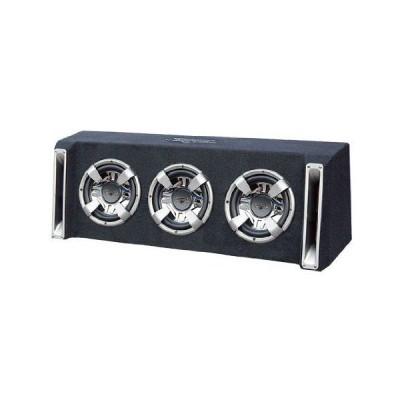 Lanzar(ランザー) VCHB310 Vector 3000W Triple 10インチ Slim-Designed Bass Box エンクロージャー