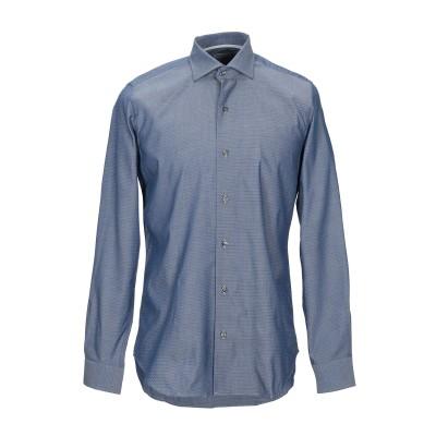 WEBB & SCOTT CO. シャツ ブルーグレー 38 コットン 100% シャツ