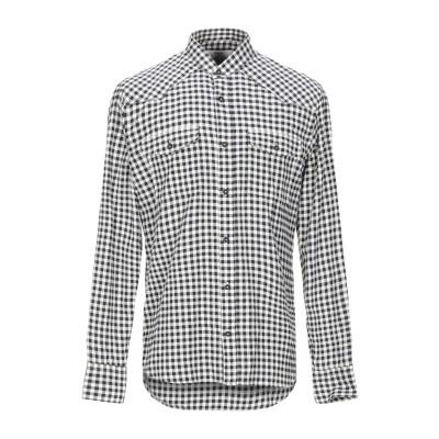 マウロ グリフォーニ MAURO GRIFONI シャツ ブラック 39 コットン 100% シャツ