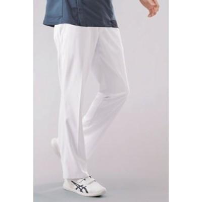 ★アシックス★ナース白衣パンツ ケアワーク(介護用 )医療用白衣 男性用 メンズ 住商モンブラン