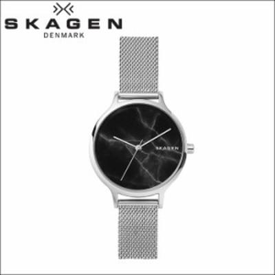 (スペシャルセール) (クリアランス) スカーゲン SKAGEN アニタ Anita SKW2673 時計 腕時計 レディース ブラック(大理石) シルバー メッシ