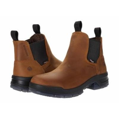 ウルヴァリン メンズ ブーツ&レインブーツ シューズ Ramparts Romeo Boot Tan