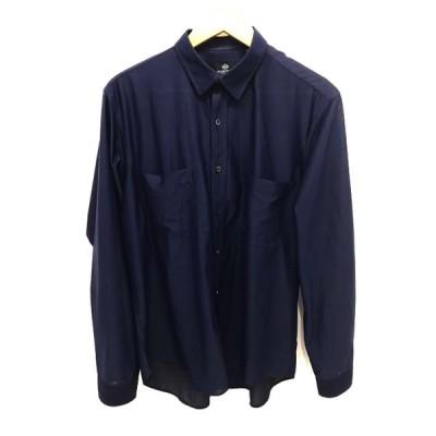 ビームスハート BEAMS HEART ジャージー ミニレギュラーカラーシャツ メンズ XL 中古 201125