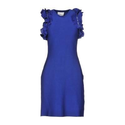 3.1フィリップリム 3.1 PHILLIP LIM ミニワンピース&ドレス ブルー L コットン 88% / ポリウレタン 12% ミニワンピース