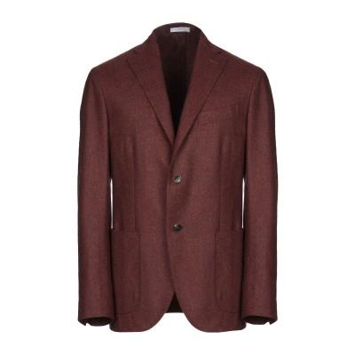 ボリオリ BOGLIOLI テーラードジャケット ブラウン 48 バージンウール 100% テーラードジャケット
