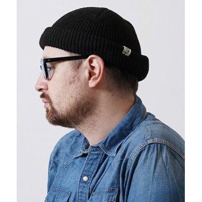 CMB by CAMBIO / mko9334-ROLL WATCH CAP ニット帽 MEN 帽子 > ニットキャップ/ビーニー
