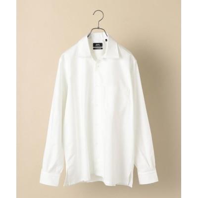 (SHIPS MEN/シップス メン)SHIPS×IKE BEHAR: アメリカ製 オックスフォード オープンカラー シャツ/メンズ ホワイト