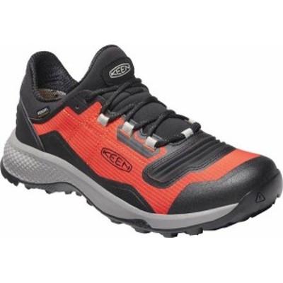 キーン メンズ スニーカー シューズ Men's Keen Tempo Flex Waterproof Hiking Sneaker Orange/Black
