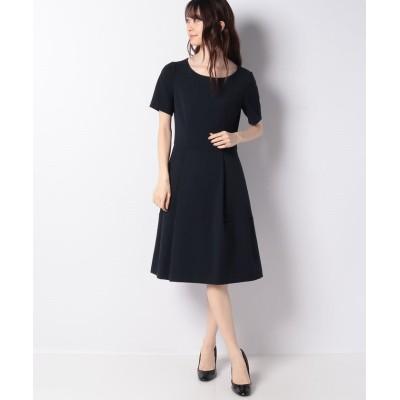 【ミス ジェイ】 ダブルクロス パニエ付きドレス レディース ネイビー 38 MISS J