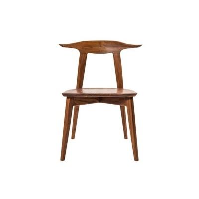 ふるさと納税 武蔵村山市 【KOMA】Sim arm chair デザイン、座り心地共に認められた椅子【ウォールナット】