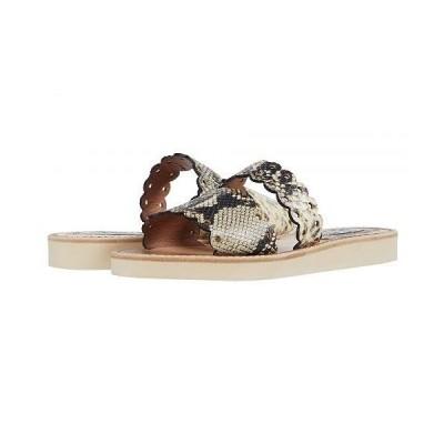 Tabitha Simmons タビサシモンズ レディース 女性用 シューズ 靴 サンダル Akela - Roccia Embossed Python