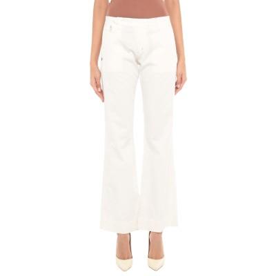 フォーティーウエフト 40WEFT パンツ ホワイト 42 コットン 98% / ポリウレタン 2% パンツ