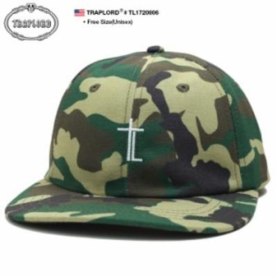トラップロード TRAPLORD 帽子 キャップ スナップバック CAP メンズ レディース 緑迷彩 男女兼用 b系 ヒップホップ ストリート系 ファッ