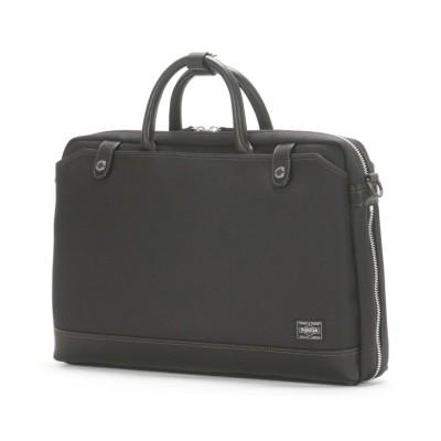 【カバンのセレクション】 吉田カバン ポーター エルダー ビジネスバッグ メンズ 拡張 2WAY B4 PORTER 010-04428 ユニセックス ブラック フリー Bag&Luggage SELECTION