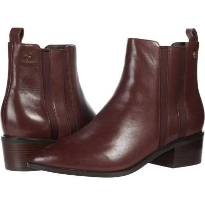 コールハーン Cole Haan レディース ブーツ シューズ・靴 Valorie Bootie (45 mm) Deep Mahogany Pricess Leather