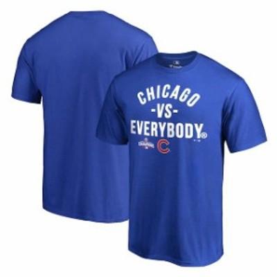 Fanatics Branded ファナティクス ブランド スポーツ用品  Chicago Cubs Royal 2016 World Series Champions Vs. Every
