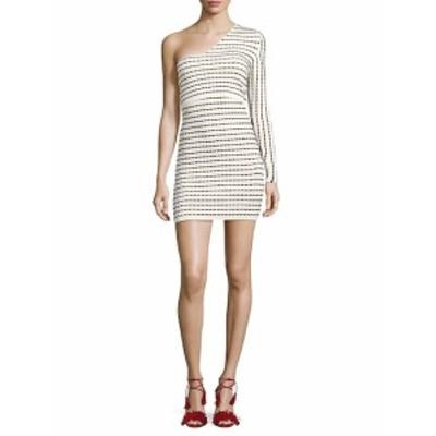 ロニーコボ レディース ワンピース Striped Bodycon Dress