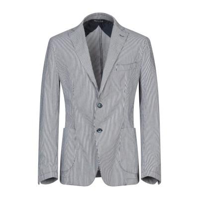 FB FASHION テーラードジャケット ブラック 54 ポリエステル 66% / コットン 34% テーラードジャケット