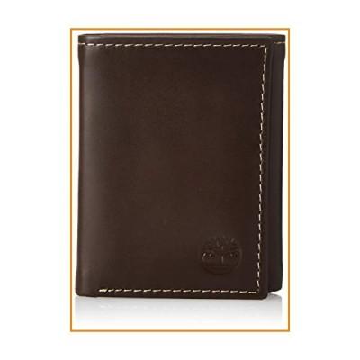 Timberlandメンズ曇り三つ折り財布 US サイズ: One Size カラー: ブラウン【並行輸入品】