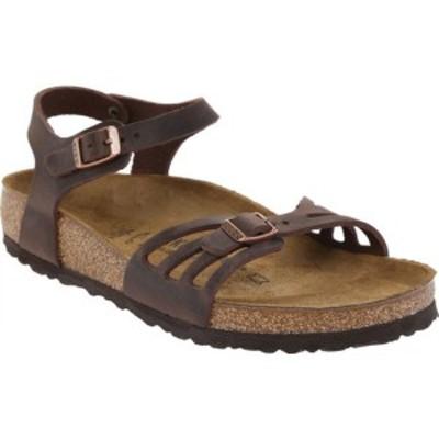 ビルケンシュトック レディース サンダル シューズ Bali Ankle Strap Cork Sandal Habana Oiled Leather