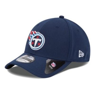 ニューエラ メンズ 帽子 アクセサリー Tennessee Titans New Era 39THIRTY Team Classic Flex Hat Navy Blue