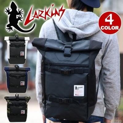 LARKINS ラーキンス リュック リュックサック デイパック バックパック ロールトップ ターポリン 送料無料 ブランド メンズ レディース ブランド 旅行