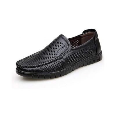 smaruyosi ビジネスシューズ メンズシューズ メンズサンダル 紳士靴 革靴 通気性抜群 蒸れない靴 夏用 中空 シューズ
